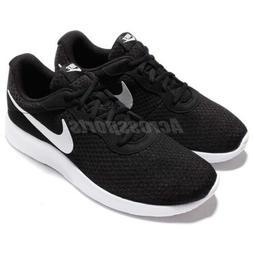 Nike Tanjun Black White Sportswear Men Running Shoes NSW Sne