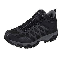Skechers Terrabite Turbary Men's Hiking Sneakers Black/Charc