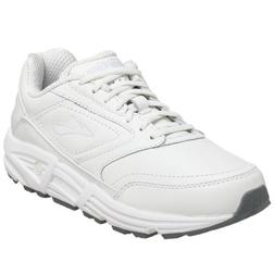 Brooks Women's Addiction, White, 6 B-Medium