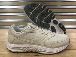 Women's Brooks Dyad Walking Walker Shoes Off White Wide SZ