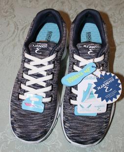 Women's Skechers GOGA GoWalk 3 Shoes  Memory Foam - Black/Gr