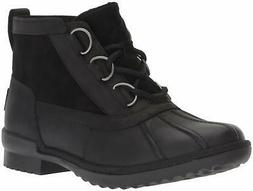 UGG Women's W Heather Boot Fashion, black, 5 M US - Choose S