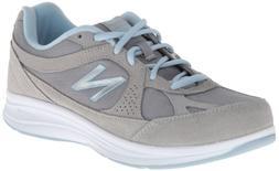 New Balance Women's WW877 Walking Shoe, Silver, 12 D US