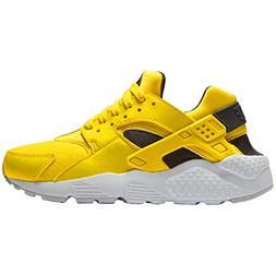 NIKE Youth Hurache Run GS Textile Yellow Anthracite White Tr